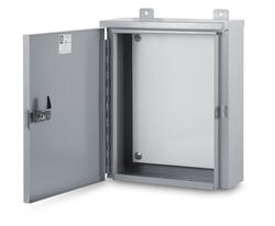Austin large hinge cover NEMA 3R Outdoor Weatherproof cabinet box enclosure housing are Underwriters Laboratories Listed and are designed for outdoor use primarily to provide a degree of protection against rain, sleet, and damage from external ice formation. Outdoor weather-proof weather proof weatherproof housing large cabinet enclosure box for electric electrical and electronic equipment